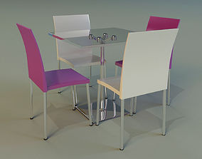 furniture rich Table 3D
