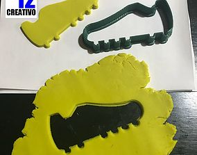 3D printable model Soccer - Baseball Shoes Cookie Cutter