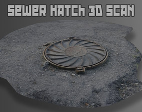realtime Sewer Hatch 3D Scan