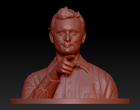 bill murray actor 3D Model art