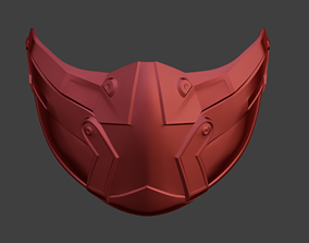 3D printable model Skarlet KGB female mask from Mortal 1