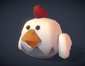 Rooster Rudy - Proto Series 3D model