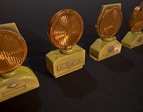 Barricade Lights - set custom 3D model