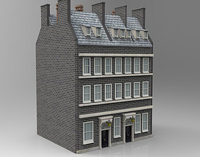 No 10 Downing Street for obj and fbx 3D model