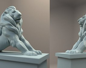 3D print model Paris Denfert Lion