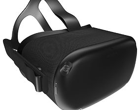 Oculus Quest VR Headset 3D