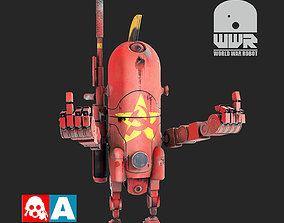 World War Robot 3D model