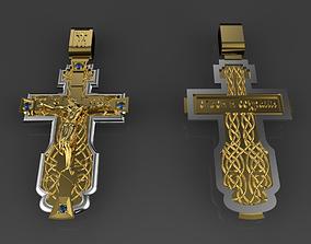 pendants religiou-object 3D print model cross