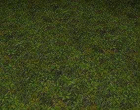 ground grass tile 18 3D model