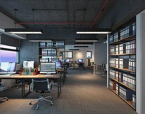 Office Y 02 3D model