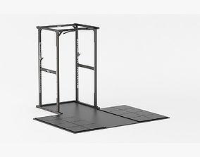 Technogym Olympic Power Rack 3D
