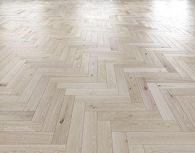 Oak Herringbones light floor 3D