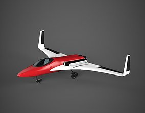 gladiators Jet plane 3D model