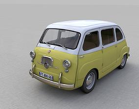 FIAT 600 MULTIPLA 1956 3D model