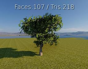 low-poly forest Lowpoly 3D Tree