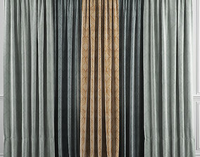 Curtain Set 37 3D model