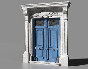 3D asset Paris door