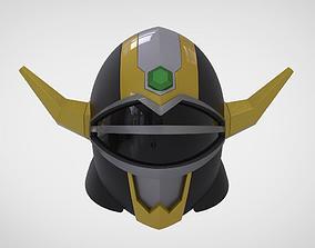 Helmet manga defender Power Rangers Lost 3D print model