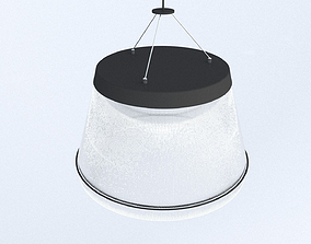 3D Fibre Ceiling Light