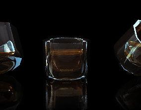 Short Glass 3D model