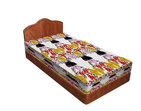 comforter Bed model