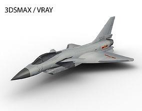 J-10 CHENGDU 3D asset