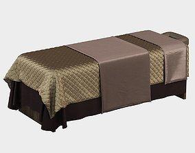 Spa bed massage 3D