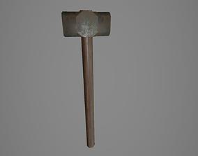 3D asset Sledge hammer