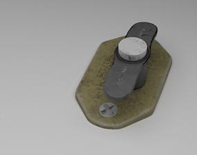 3D F16 ALT Gear Down Panel