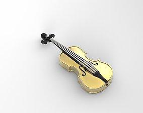 3D print model Violin Jewelry