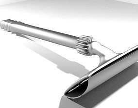 Barber Equipment - Shaver 3D model