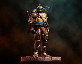 Fanart TMNT Leonardo - Statue 3D printable model
