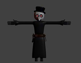 3D model Plague Docter