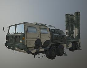 3D PBR S-400 Triumf Missile System