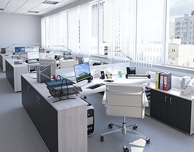3D model Office 1