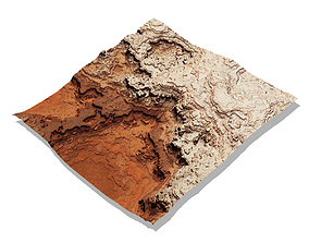 3D Canyon terrain