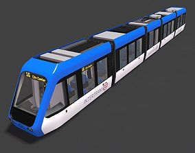 tram tramway electical train 3D model