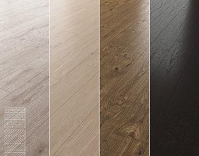 3D Wood Floor Set 03