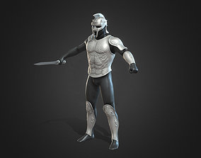 gladiator armor 3D print warrior