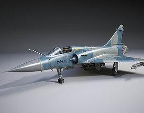 Dassault Mirage 2000 rigged 3D