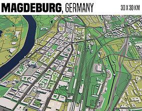 3D model Magdeburg
