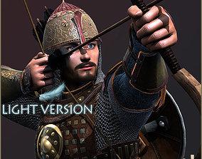 Adam Archer Light Version 3D asset