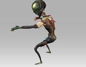 3D Alien creature 1