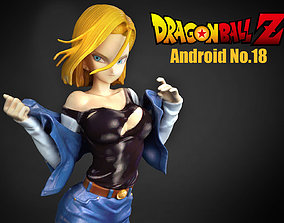 Android No18 3D model