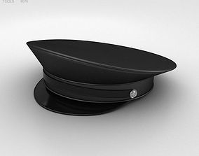 Police Uniform Hat 3D