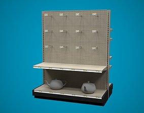 3D model Store Shelf B