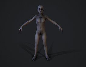 Child corpse experiment 3D model