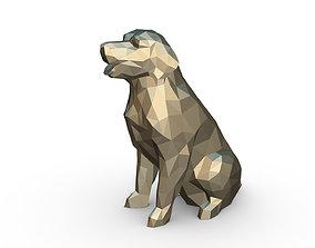 Golden Retriever figure 3D printable model