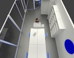 mini office kucuk ofis gorunumu 3D model
