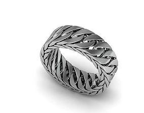 chain ring for men 3D print model